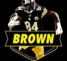 Antonio Brown - Pittsburgh Steelers by twyland
