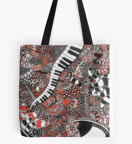The piano has been drinking - 1 Tote Bag