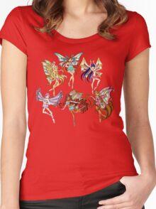 Winx Club Enchantix Women's Fitted Scoop T-Shirt