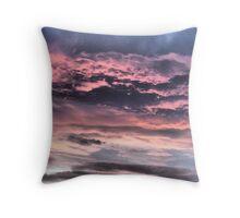 Sunrise over Bradford Throw Pillow