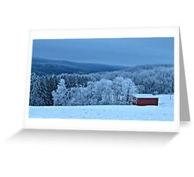 An Icy Wonderland Greeting Card