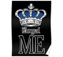 Royal Me - Blue (2) Poster