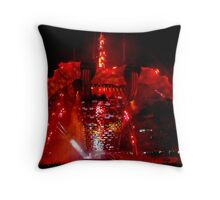 Concert Series - The Claw Throw Pillow