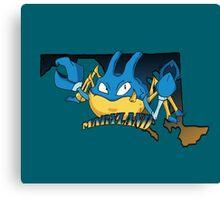 Maryland Blue Krabbys Canvas Print