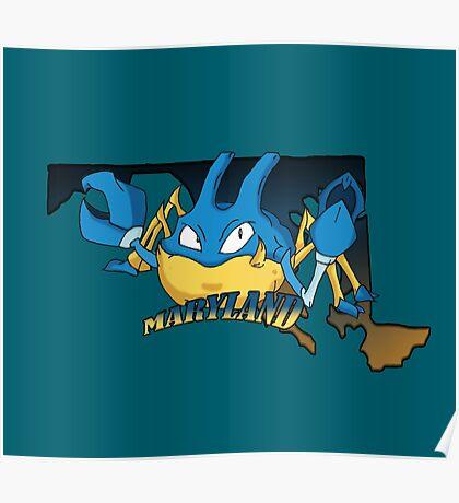 Maryland Blue Krabbys Poster