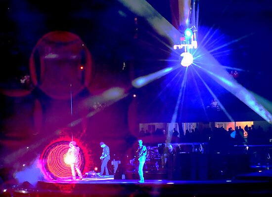 Concert Series - Bono hologram by Paige