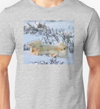 Yoga Bear side bite Unisex T-Shirt