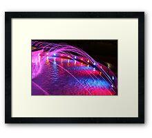 Colourfall Framed Print