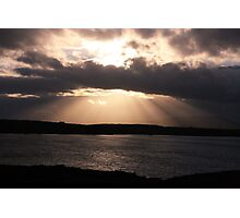 Rays of God Photographic Print