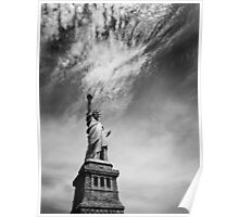 NYC: Miss Liberty Poster