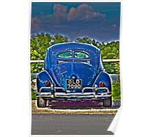 Tatty But Cool - Old Bug  Poster