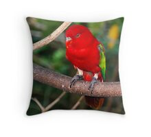 Birds Park 2 Throw Pillow