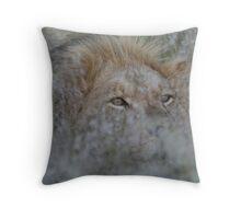 Grassy Mane Throw Pillow