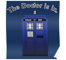 The Doctor is In Poster