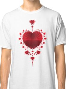 Red Hearts Classic T-Shirt