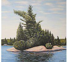 The Island - Muskoka Ontario (c) Ian Ridpath Photographic Print