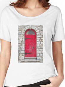 Old Red Door Women's Relaxed Fit T-Shirt