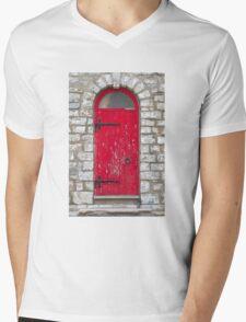 Old Red Door Mens V-Neck T-Shirt