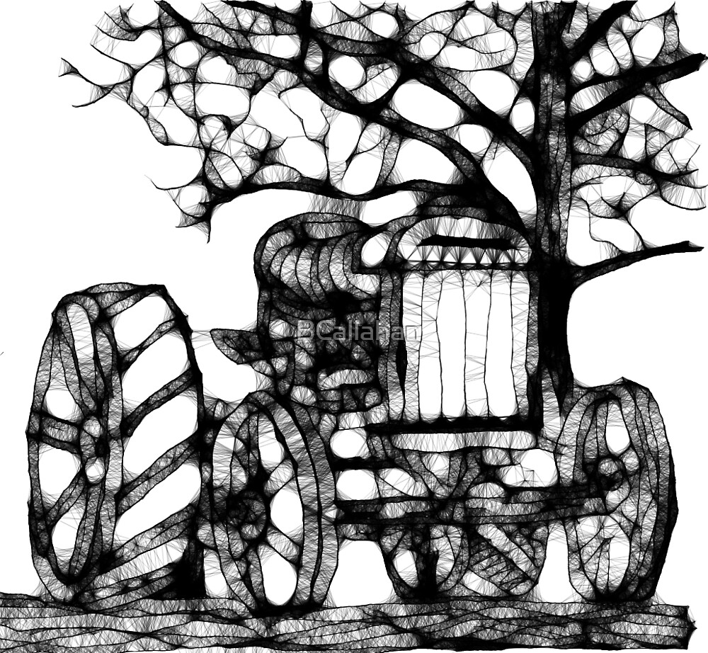 Fordson Tractor in Scribbler by BCallahan