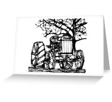 Fordson Tractor in Scribbler Greeting Card
