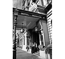 The Windsor Hotel Doorman - Melbourne Photographic Print