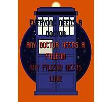 Doctor friend love Photographic Print
