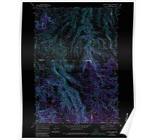 USGS Topo Map Oregon Lefevre Prairie 280499 1969 24000 Inverted Poster