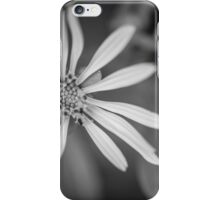 Yellow to Black and White iPhone Case/Skin