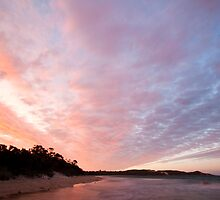 Waterhouse Point Sunset by Will Hore-Lacy