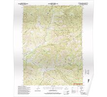 USGS Topo Map Oregon Sterling Creek 281652 1996 24000 Poster