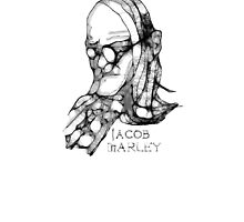 Scribble-Jacob Marley by Peter Simpson