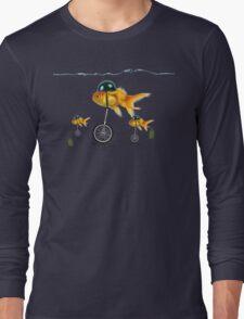 gold fish 3 Long Sleeve T-Shirt