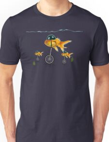 gold fish 3 Unisex T-Shirt