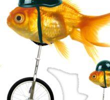 gold fish 3 Sticker