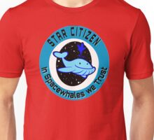 In Spacewhales we Trust Unisex T-Shirt