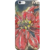 Untitled Flower 30 iPhone Case/Skin