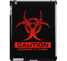 Zombies at Work iPad Case/Skin