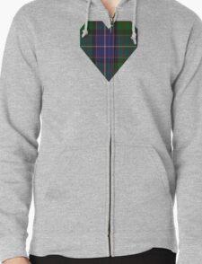 00117 Ontario (District) Tartan  T-Shirt