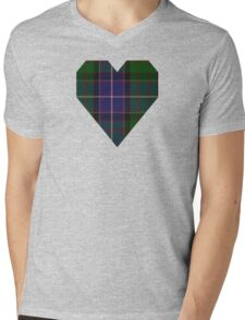 00117 Ontario (District) Tartan  Mens V-Neck T-Shirt