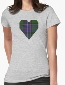 00117 Ontario (District) Tartan  Womens Fitted T-Shirt