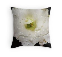 Dazzling Raindrops Throw Pillow