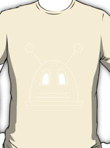 Robot (Basic) White, Non-Filled face for darker backgrounds T-Shirt