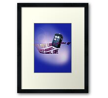 Wibbly-wobbly... timey-wimey... stuff. - Doctor Who Framed Print