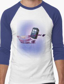 Wibbly-wobbly... timey-wimey... stuff. - Doctor Who Men's Baseball ¾ T-Shirt