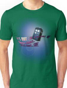 Wibbly-wobbly... timey-wimey... stuff. - Doctor Who Unisex T-Shirt