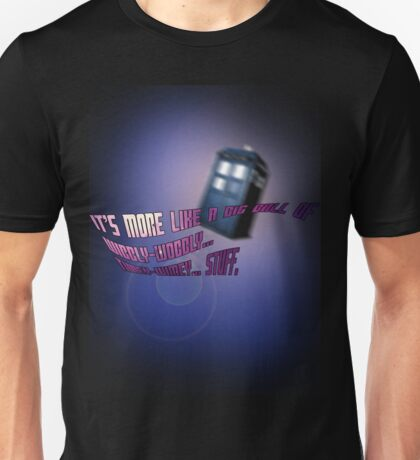 Wibbly-wobbly... timey-wimey... stuff. - Doctor Who Unisex T-Shirt