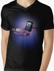 Wibbly-wobbly... timey-wimey... stuff. - Doctor Who Mens V-Neck T-Shirt