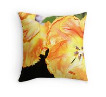 Dazzling Flowers Throw Pillow