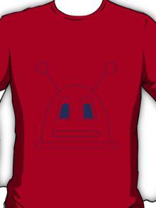 Robot (Navy) Non-Filled face T-Shirt