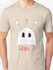 Robot (Watt? Angry eyes) Filled face Unisex T-Shirt